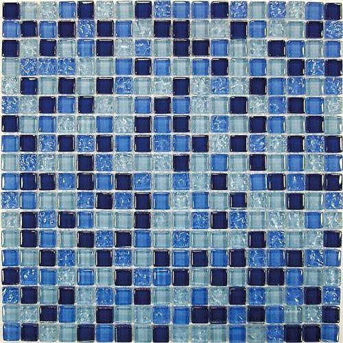 Мозаика стеклянная Bonaparte Blue Drops