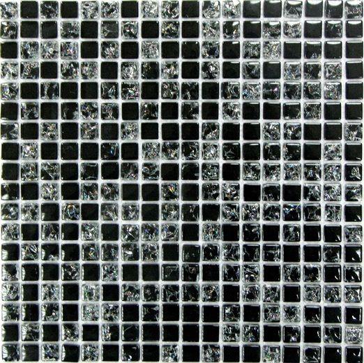 Мозаика стеклянная Bonaparte Strike Black