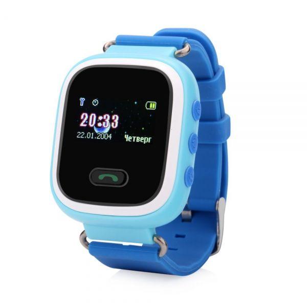 Smart часы детские с GPS GP-02 (синие)