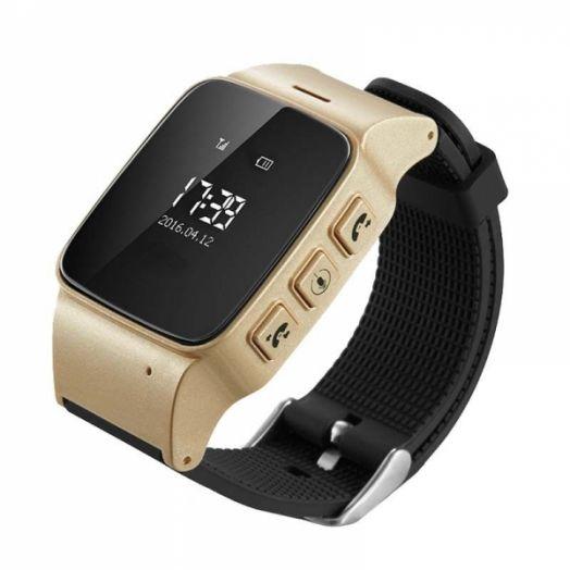 Smart часы детские с GPS GP-06 (золотые)