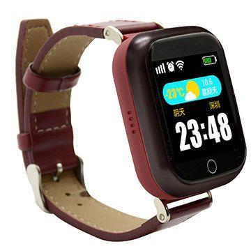 Smart часы с GPS GP-07 Бордовые