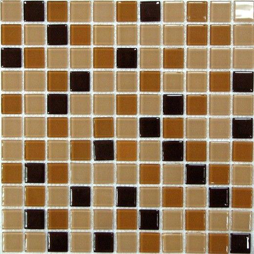 Мозаика стеклянная Bonaparte Coffee Mix