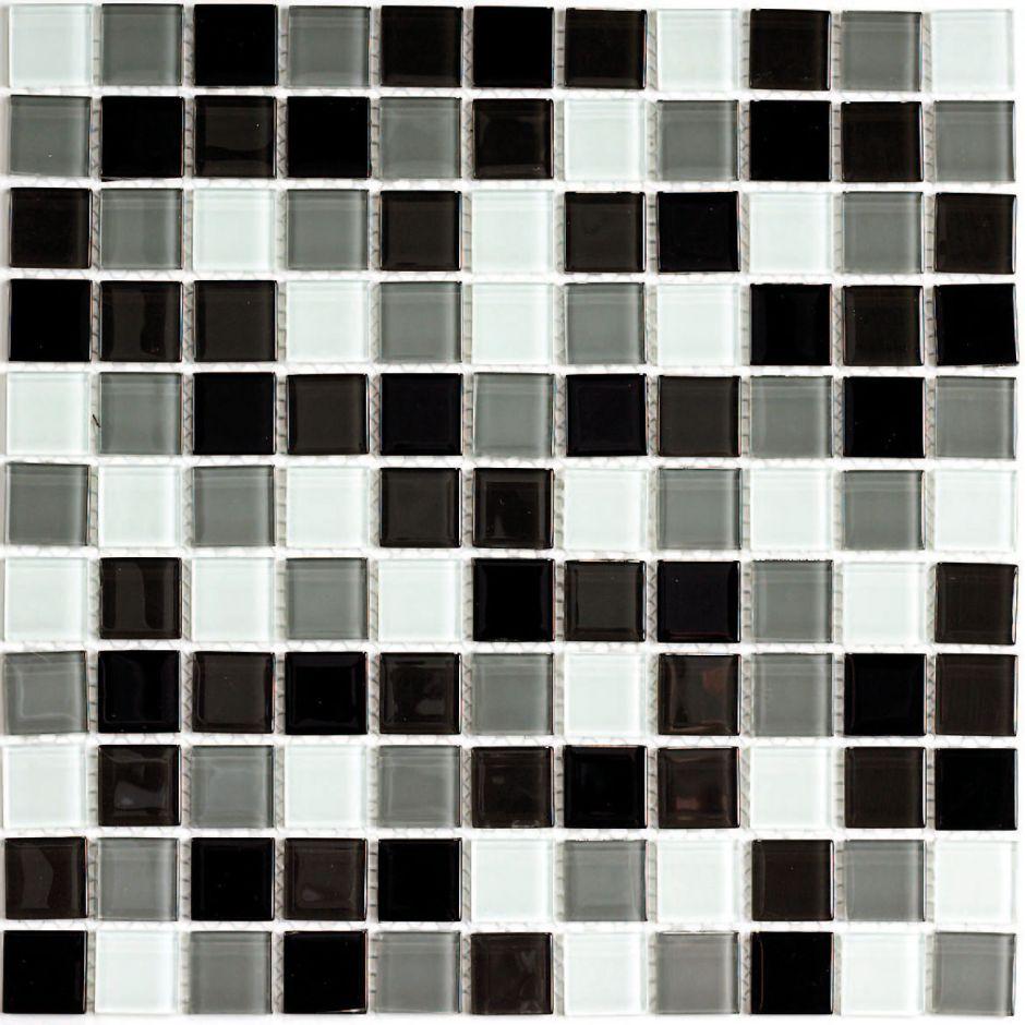 Мозаика стеклянная Bonaparte Carbon Mix