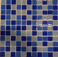 Мозаика стеклянная Bonaparte Blue Wave 2