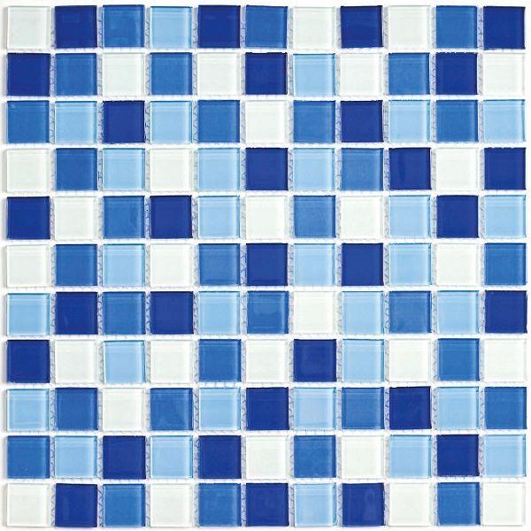 Мозаика стеклянная Bonaparte Blue Wave 3