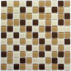 Мозаика стеклянная Bonaparte Latte Mix