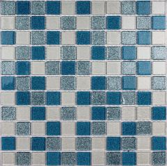Мозаика стеклянная Bonaparte Shine Blue