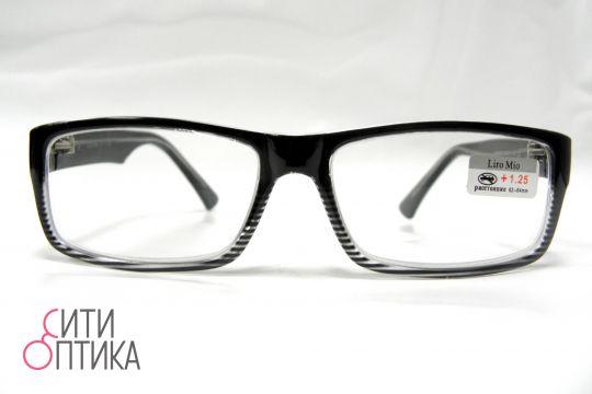 Готовые очки  с диоптриями +1. 25 Liro Mio M84002