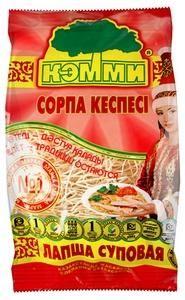 КЭММИ Лапша д/супа и гарнира (особо тонкая)   200г