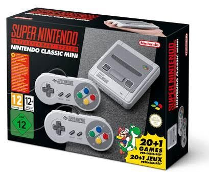 Игровая приставка Nintendo Snes Mini