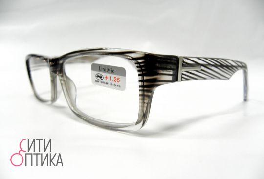 Готовые очки  с диоптриями +1.25 . Модель Liro Mio