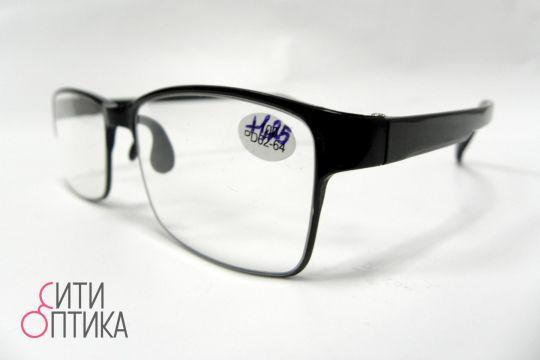 Карбоновые готовые очки  с диоптриями +1.25.  Модель TR90 5268