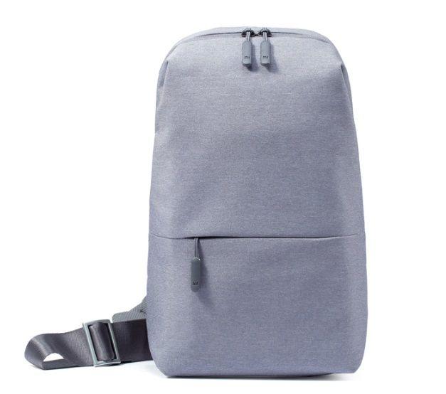 Рюкзак Xiaomi City Sling Bag 10.1-10.5 (Светло -Серый)