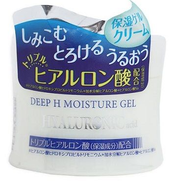 Daiso Japan глубокоувлажняющий отбеливающий гель-крем для лица с Гиалуроновой кислотой, 40 г
