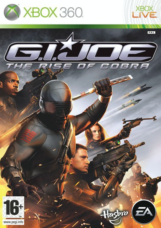 Игра G.I.Joe The Rise of Cobra (Xbox 360)