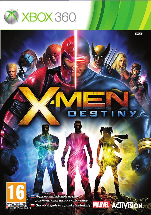 Игра X-Men Destiny (Xbox 360)