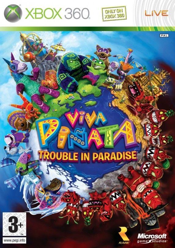 Игра Viva Pinata Trouble in Paradise (Xbox 360)