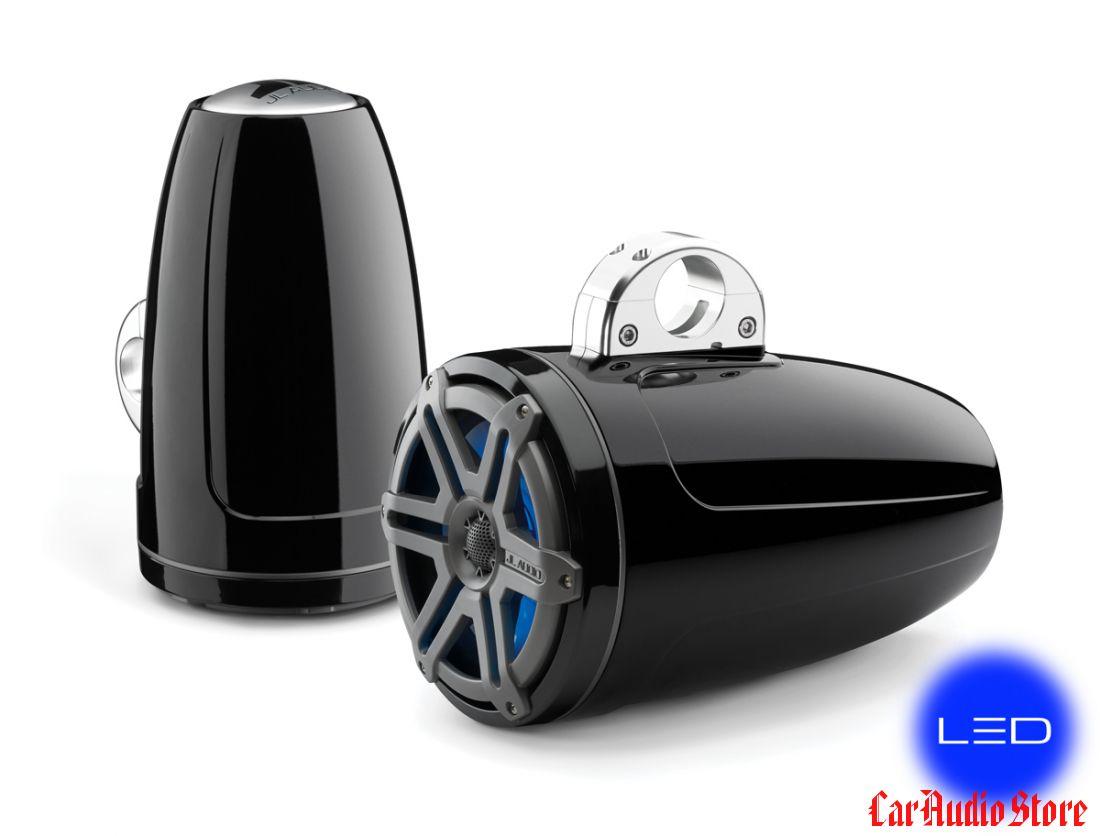 JL Audio M880-ETXv3-SG-TBLD-B Sport Titanium w/blue LED