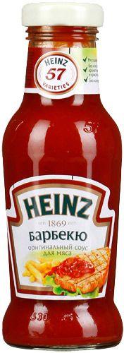 Соус Хайнц Барбекю ст/б 250мл