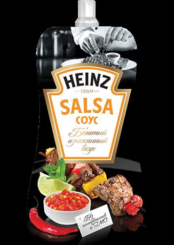 Соус Хайнц томатный Сальса д/п 230гр
