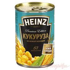 """Кукуруза """"Хайнц"""" ж/б 340гр"""