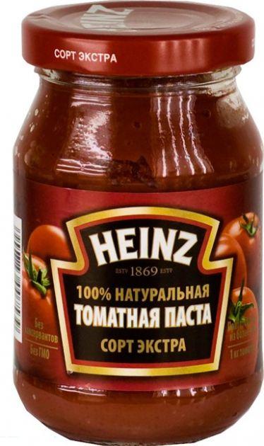 """Томатная паста """"Хайнц"""" ст/б 310гр"""