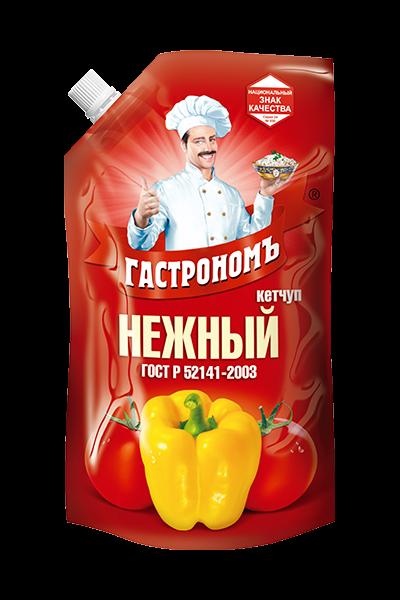 Кетчуп Нежный 400гр д/пак