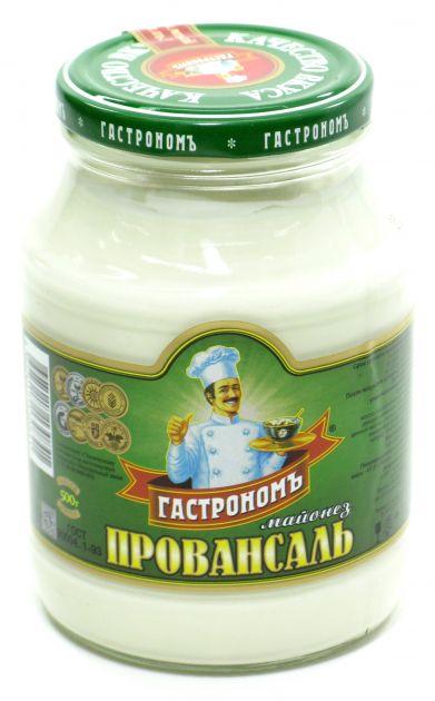 Майонез Провансаль Гастроном 67% 500г ст/б