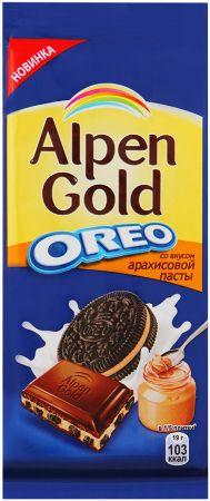 Алпен голд Орео со вкусом арахисовой пасты 95г