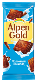 Алпен голд молочный шоколад 90г