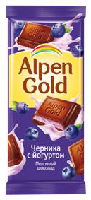 Алпен голд с чернично-йогуртовой нач. 90г
