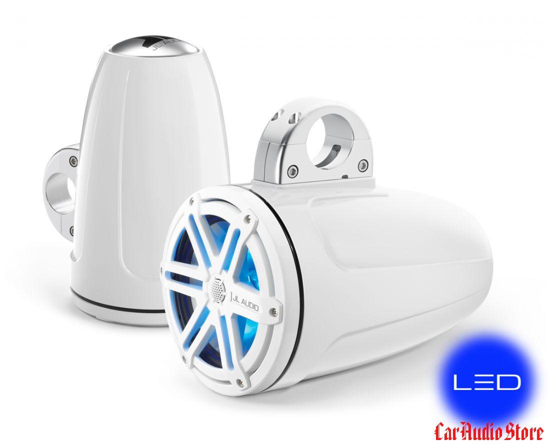 JL Audio MX770-ETXv3-SG-WLD-B Sport White w/blue LED