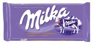 Милка ш-д молочный 90г