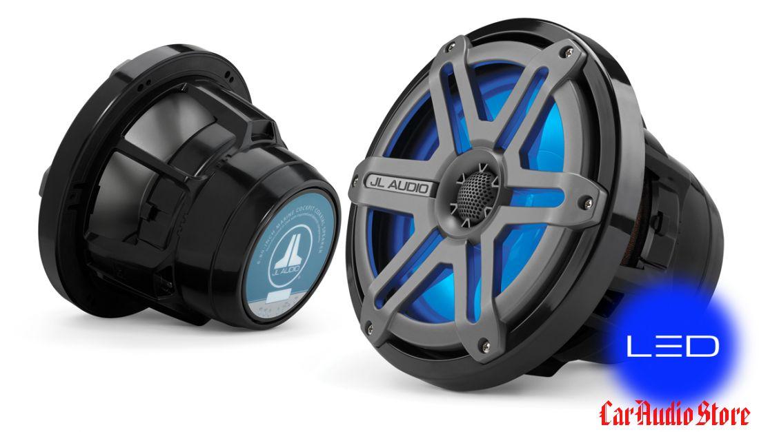 JL Audio M880-CCX-SG-TLD-B Sport Titanium w/Blue LED