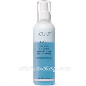 KEUNE Двухфазный Кондиционер-спрей Кер. комплекс / CARE Keratin Smooth 2 Phase Spray, 200 мл. (21361) Кёне