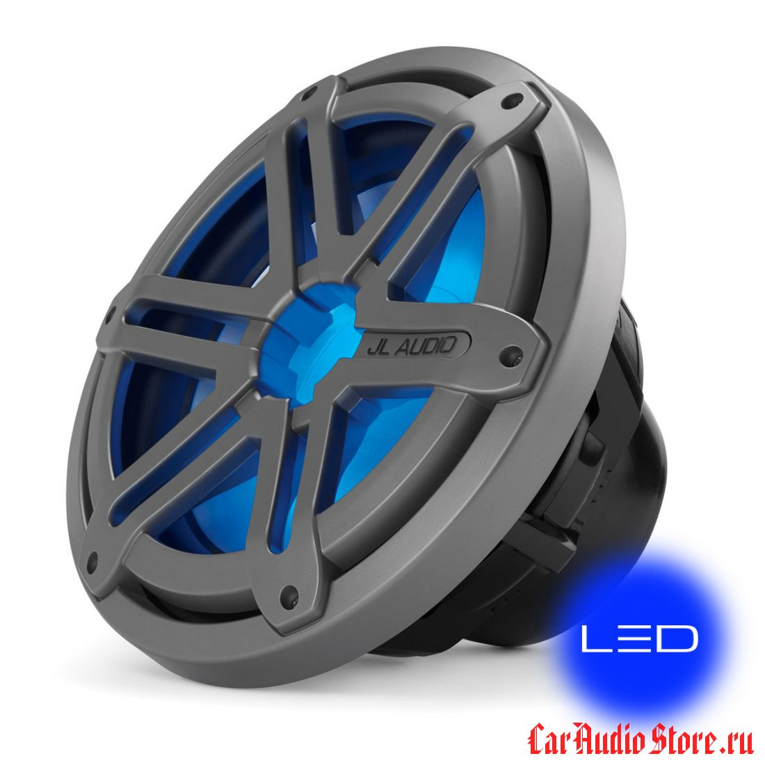 JL Audio MX10IB3-SG-TLD-B Sport Titanium w/blue LED