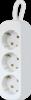 Удлинитель с заземлением E330 3.0 м, 3 розетки
