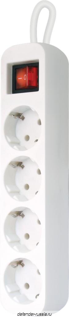 f5c1ff5192dc НОВИНКА. Удлинитель с заземлением S430 Выключатель, 3.0 м, 4 розетки