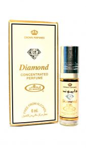 Арабские масляные духи Diamond | Дайамонд (Бриллиант) | 6 мл | Al-Rehab | Женский