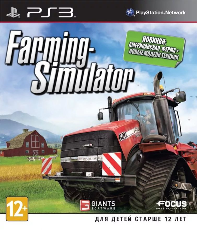 Игра Farming-Simulator (PS3)