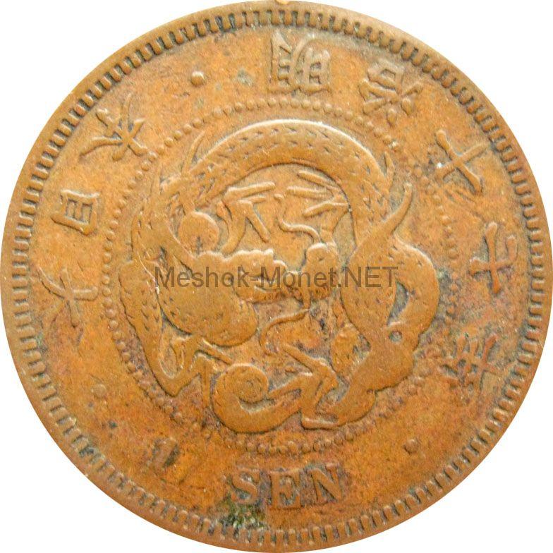 Япония 1 сен 1884 г.