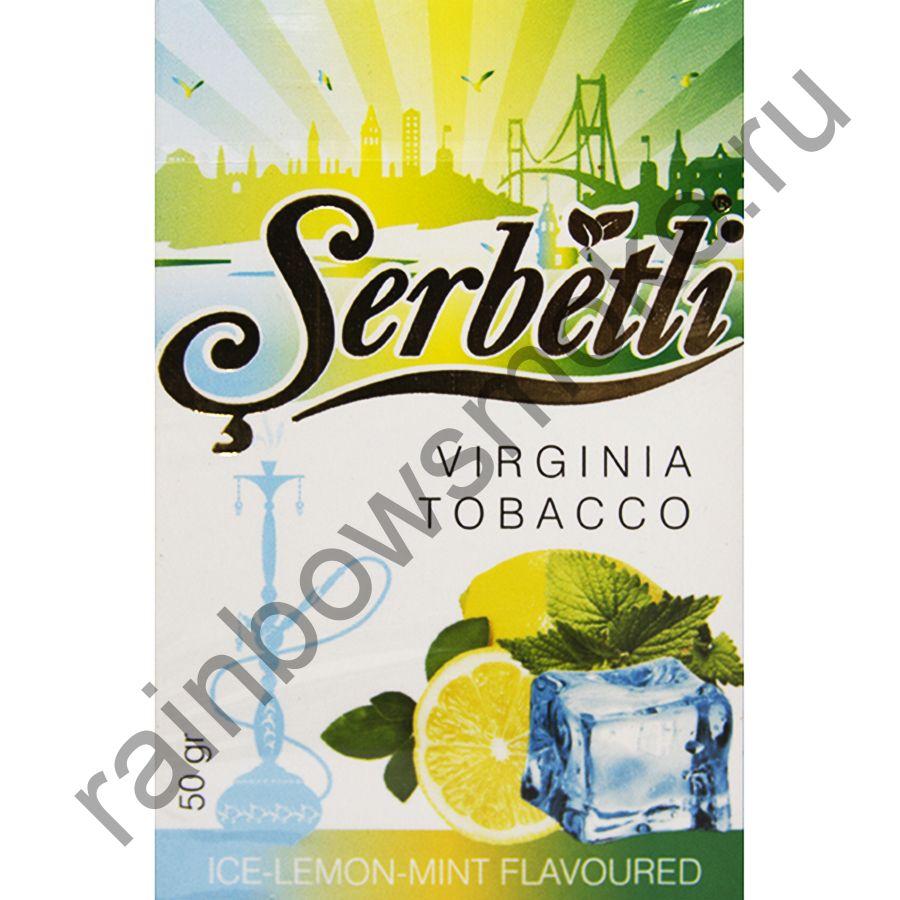 Serbetli 50 гр - Ice Lemon Mint (Ледяной лимон с мятой)