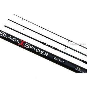 Удилище карповое, штекерное Kaida BLACK SPIDER Carp 3,6м тест -120 g