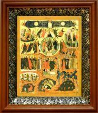 Вертоград Заключенный (19х22), светлый киот
