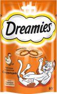 Dreamies Лакомые подушечки с курицей (60 г)
