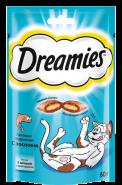 Dreamies Лакомые подушечки с лососем (60 г)