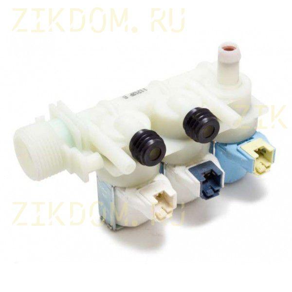 Клапан стиральной машины тройной прямой Ariston Indesit C00110331