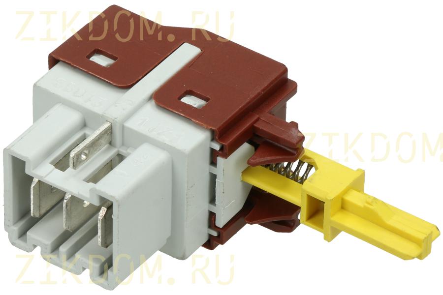 Кнопка сетевая для стиральной машины Electrolux, Zanussi 1249271105