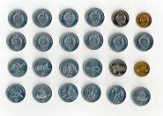 Северная Корея 12 монет 2002 животные, техника