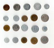 Польша 10 монет 1957-1990 (VF-XF)